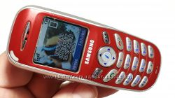Samsung X100 интересный ретро телефон бордо состояние отличное