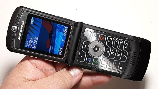 Motorola Razr V3 Black оригинал супер телефон