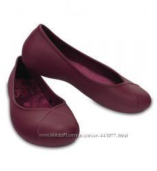балетки crocs olivia II lined flat w6 w7 w8