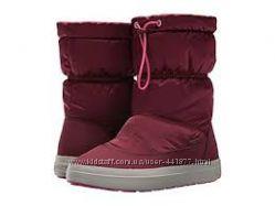 зимние ботинки Crocs LodgePoint Pull-On Boot два цвета w6 w7