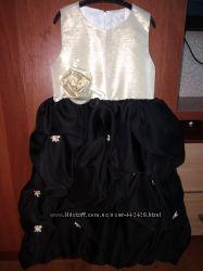 Платье сарафан праздничное на 4-6 лет
