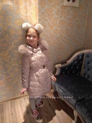 Пальто - пуховик  Monnalisa 6 - 8 лет