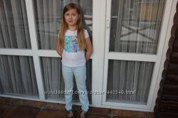 стильные   джинсы  Armani Junior для девочки