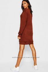 Платье, свитшо, худи boohoo размер 12