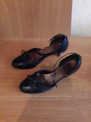 Туфли Hogl р. 38 женские, цвет-черный