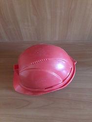 Каска шахтерская красная