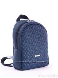 Стильный  синий детский рюкзак от Альба Собони качество