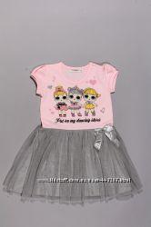 Милейшее платье с куколками ЛОЛ