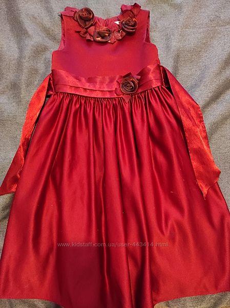 Платье нарядное 5-7