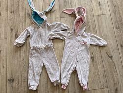Велюровые костюмы с ушками