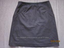 качественная юбка H&M, школа, 36 р-р