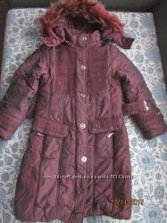 теплое зимнее пальто RMkids дев рост до 134 см