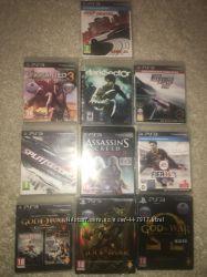 Диски на Sony PlayStation 3 бу.
