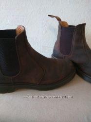 Классные кожаные ботинки Dr. Martens chelsea boots 41р