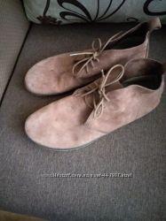 Замшевые ботинки vivobarefoot, р. 46