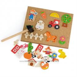 Набор для творчества Viga Toys Ферма