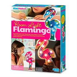 Набор для творчества Подсветка Фламинго 4М светильник