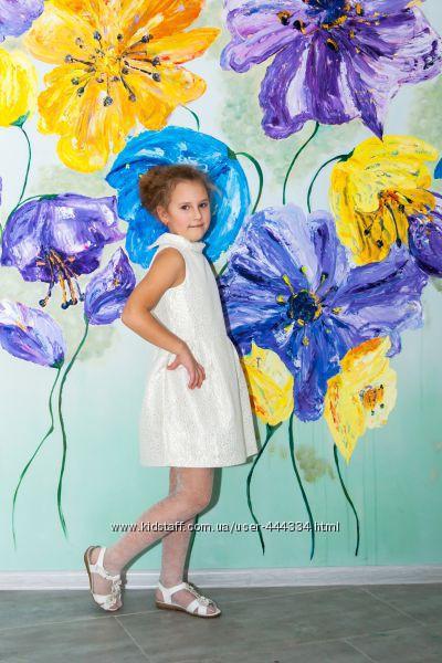 Красивое праздничное платье crazy8 размер 7 и сарафан gymboree 5T