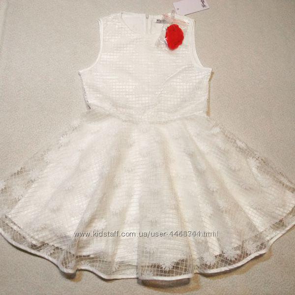 Платье для полненькой девочки ростом 140-146 Италия