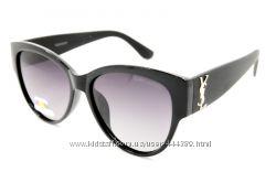 Женские очки черные YSL