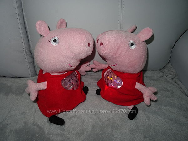 Большая интерактивная игрушка-ночник Свинка Пеппа Peppa Pig