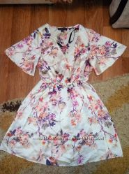 Бомбезное легкое платье