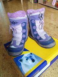 Продам ботинки BG термо размер 25