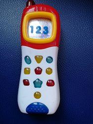 Продам музыкальный телефон Chicco б. у.