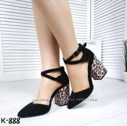 Красивые туфли, натуральная замша, расцветки