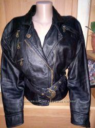 натуральная кожанная куртка-Шара