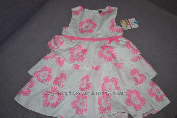 carters новое платье на 2г