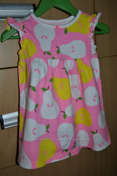 Carters 12m платье