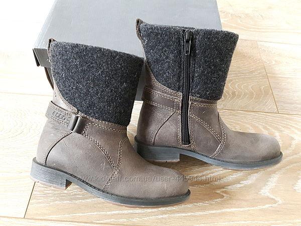 Сапоги, ботинки ecco 28р.