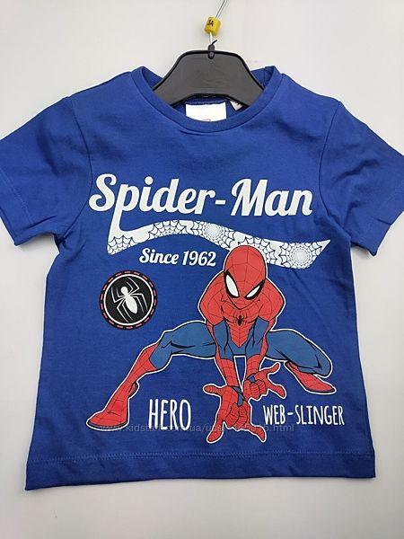 Детская футболка Тачки Маквин Молния Человек паук Бейблейд