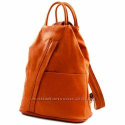67c7cba30796 Shanghai - женский кожаный рюкзак небольшого размера из мягкой кожи ...