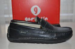 Детские кожаные туфли мокасины Garvalin 30размер 18, 5см