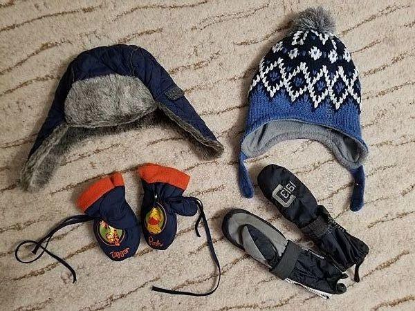 Шапка, варежки, краги, рукавички, ушанка