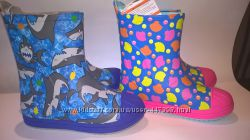 Чобітки для дощу дитячі crocs розпродаж