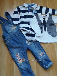Пакет вещей для малыша Next, H&M.