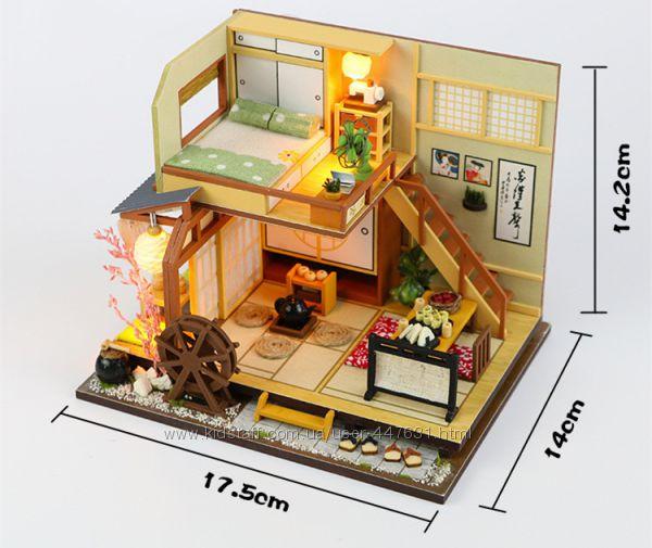 Кукольный дом интерьерный 3D конструктор румбокс M034Z Karuizawas forest