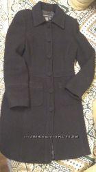 Элегантное черное пальто классика