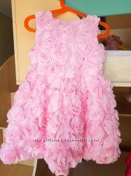 Платье цветок нарядное