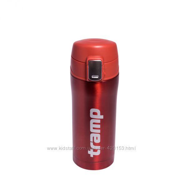 Термос - кружка Tramp 0, 35 л красный металлик TRC-106-red