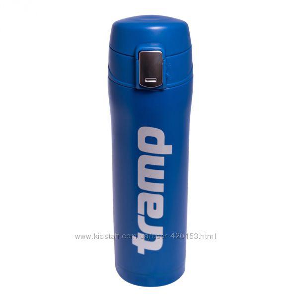 Термос - кружка Tramp 0, 45 л синий TRC-107-blue