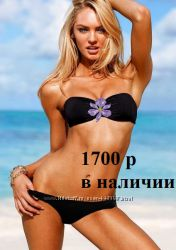 Новый женский черный купальник Виктория Сикрет