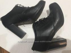 Ботиночки ботильоны туфли натуральная кожа