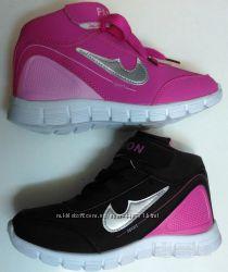 Кроссовки для девочек 29-35 размер.