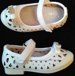 Туфли летние 21-25 размер