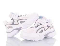 Кроссовки белые 30-36 размер