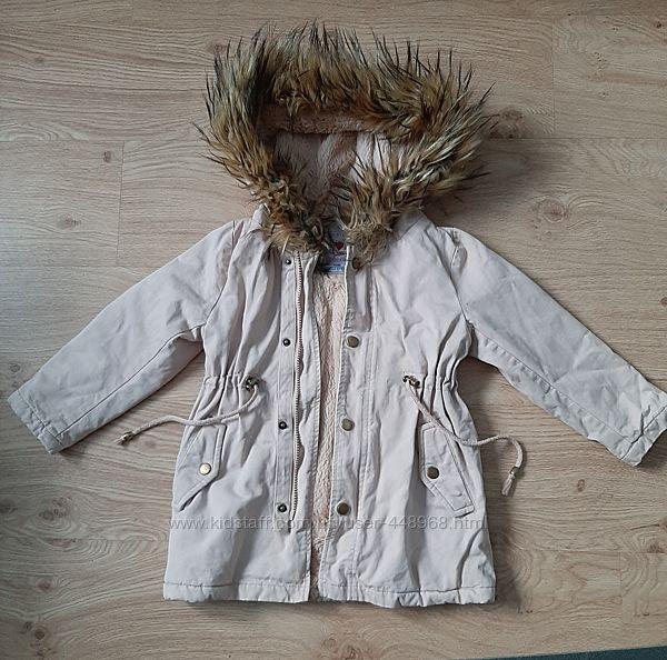 Парка пальто для девочки